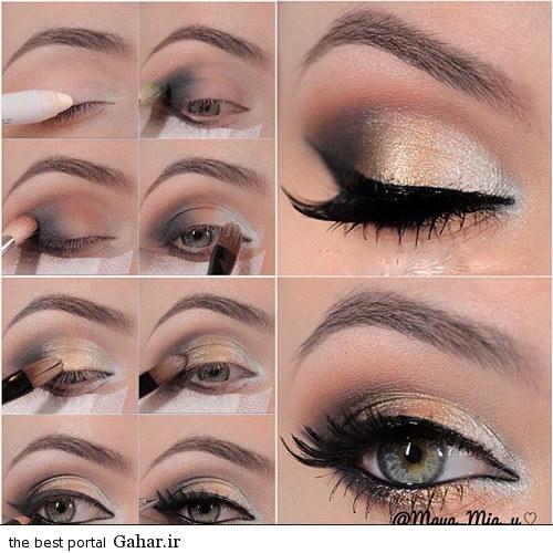 arayesh cheshm 2015 2 مدل جدید آرایش چشم (ویژه مراسم عروسی)