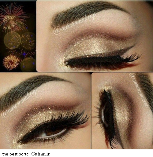 arayesh cheshm 2015 5 مدل جدید آرایش چشم (ویژه مراسم عروسی)