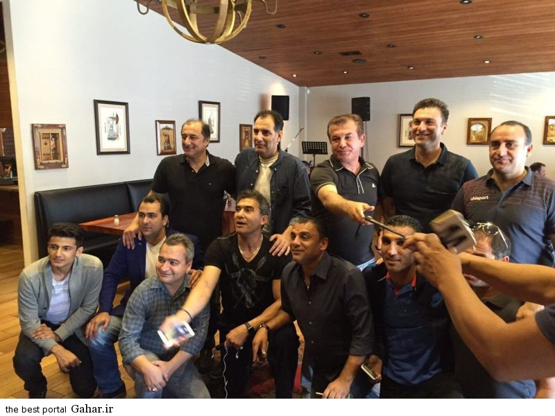 piroozi1 دردسر پرسپولیسی ها به خاطر عکس با خواننده لس آنجلسی