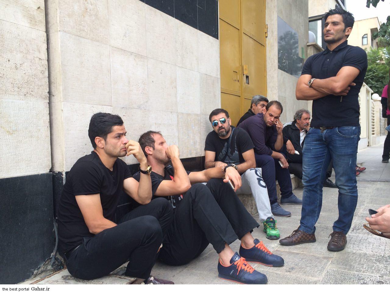 گریه های بازیکنان پرسپولیس در بیمارستان آتیه, جدید 1400 -گهر