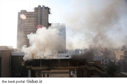 تالار وزارت کشور صبح امروز در آتش سوخت, جدید 1400 -گهر