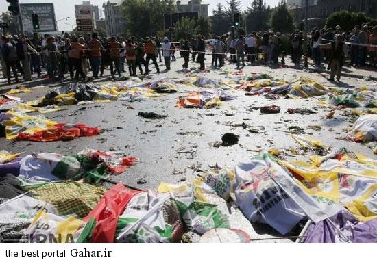 گزارش تصویری از انفجار در آنکارا / ۱۸+, جدید 1400 -گهر