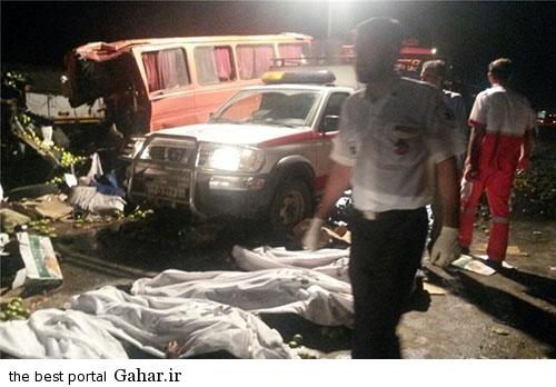 673871 807 عکس / خبر تکمیلی تصادف خونین اتباع افغان در قم