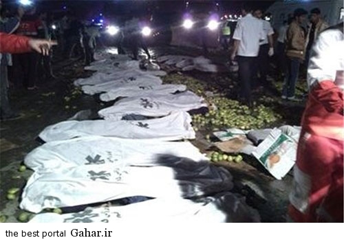 673872 916 عکس / خبر تکمیلی تصادف خونین اتباع افغان در قم