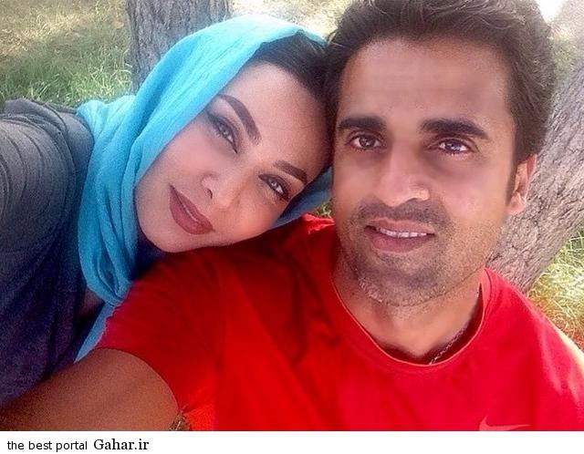عکس های جدید فقیهه سلطانی و همسرش جلال امیدیان, جدید 1400 -گهر