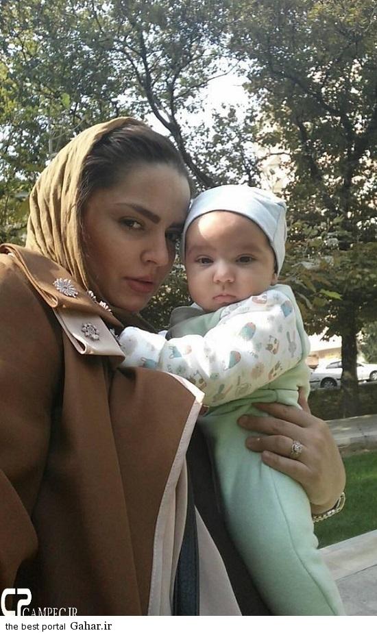 عکسهای جدید سپیده خداوردی و همسر و فرزندش, جدید 1400 -گهر
