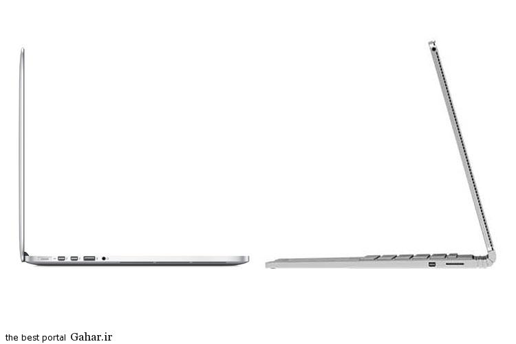 مقایسه فنی سرفیس بوک مایکروسافت با مک بوک پرو اپل, جدید 1400 -گهر