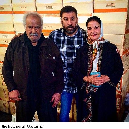 عکس جدید علی انصاریان در کنار بازیگران قدیمی ایران, جدید 1400 -گهر