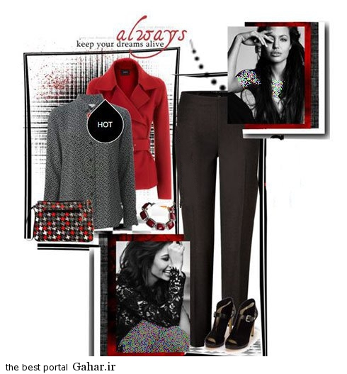 مدل های جدید ست لباس پاییزی آنجلینا جولی, جدید 1400 -گهر