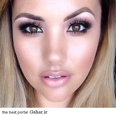 عکس; مدلهای آرایش زیبای دختران, جدید 1400 -گهر