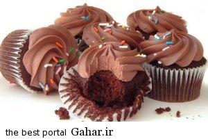 دستور تهیه کاپ کیک دبل چاکلت, جدید 1400 -گهر