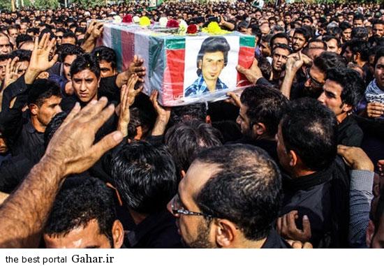 عکسهای مراسم خاکسپاری شهدای تیراندازی حسینیه صفی اباد, جدید 99 -گهر