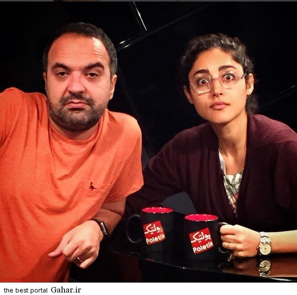 ازدواج گلشیفته فراهانی با مجری معروف تلویزیون, جدید 1400 -گهر