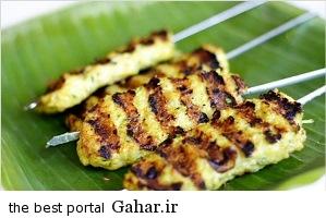 kabab طرز تهیه کباب کوبیده مرغ / غذای سریع