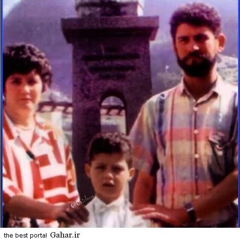 عکس دیده نشده از کریستیانو رونالدو در کنار پدرش, جدید 1400 -گهر