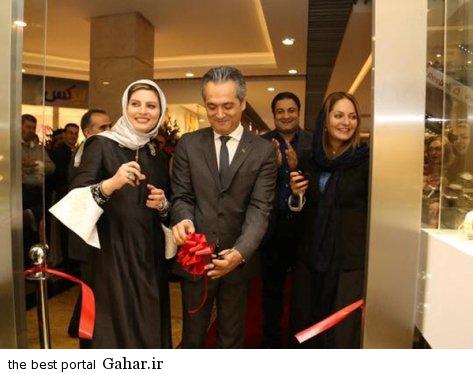 mahnaz afshar 429 عکس های جدید مهناز افشار در مراسم افتتاحيه ساعت شانزليزه