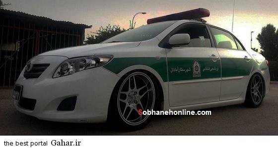 عکس ماشین پلیس گران قیمت ایرانی, جدید 99 -گهر