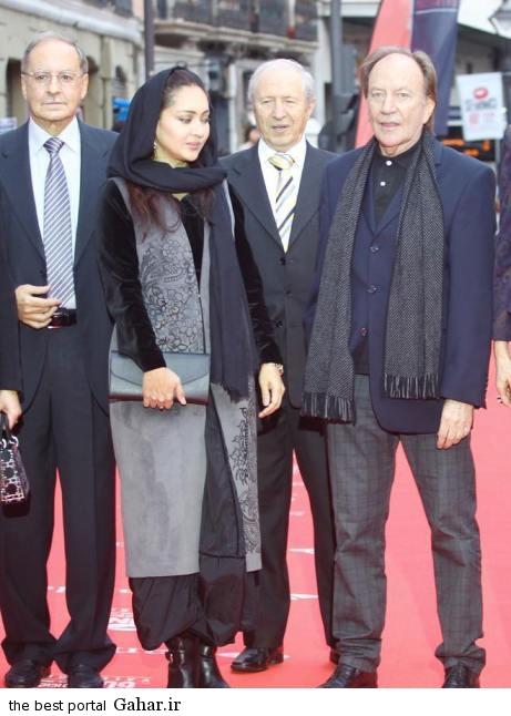 عکس های نیکی کریمی و پدرش در جشنواره وایادولید, جدید 1400 -گهر