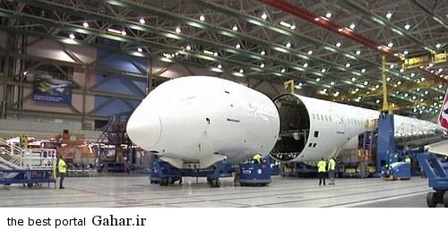 عکسهای مراحل ساخت هواپیمای غول پیکر بوئینگ ۷۸۷, جدید 1400 -گهر