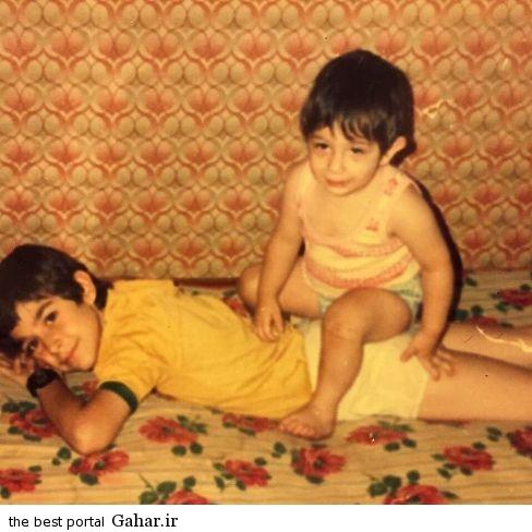rezagolzar5 عکس دیده نشده کودکی محمدرضا گلزار و برادرش بردیا