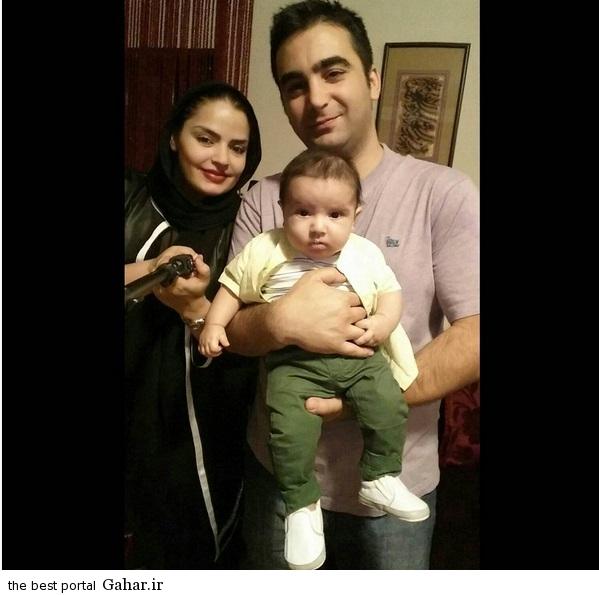 عکس جدید سپیده خداوردی و همسر و پسرش, جدید 1400 -گهر