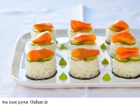 sooshi6 طرز تهیه سوشی در منزل
