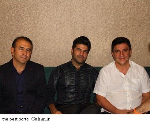والیبالیست های ایران و مجید خراطها در رستوران قلعه نویی, جدید 1400 -گهر