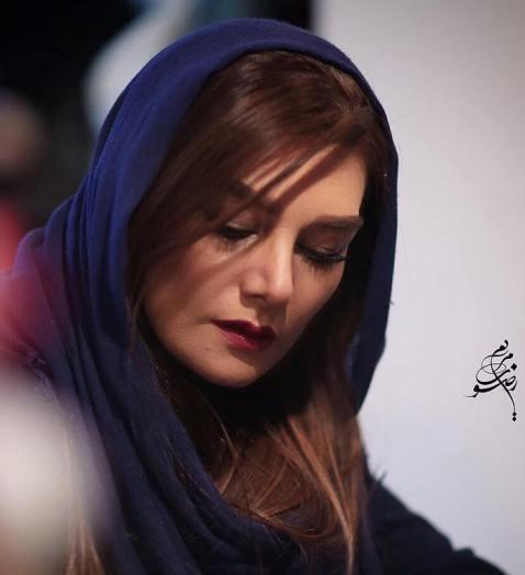hengamehghaziani3 عکس های آتلیه ای هنگامه قاضیانی با آرایش غلیظ