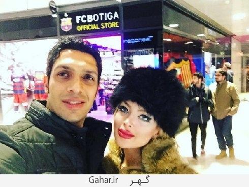 sepehrheydari عکس جدید سپهر حیدری و همسرش در اسپانیا
