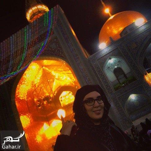 عکس های جدید لیلا بلوکات در مشهد مقدس با نقاب!, جدید 99 -گهر