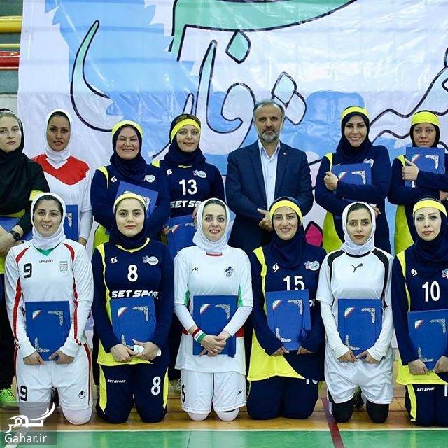 634348 Gahar ir عکس های آزاده زارعی در مسابقات تیم فوتسال هنرمندان