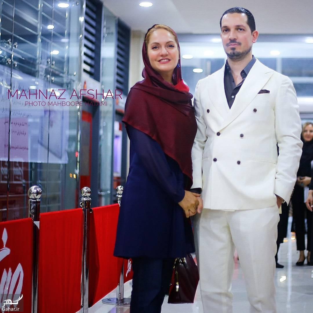 عکس های مهناز افشار و همسرش در اکران خصوصی «نهنگ عنبر», جدید 99 -گهر