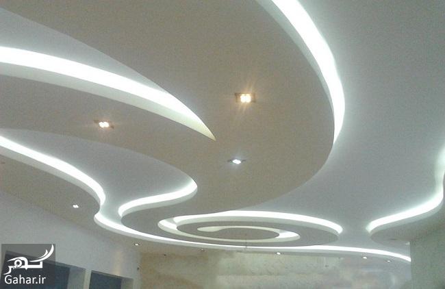 مدلهای جدید و خاص سقف کناف (۲۵ مدل سقف کاذب کناف), جدید 1400 -گهر