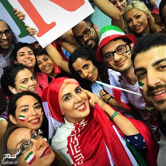 050535 Gahar ir عکس های لیلا بلوکات تماشاگر ویژه بازیهای والیبال ایران