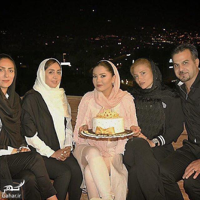 111587 Gahar ir عکس های جشن تولد آزاده زارعی در کنار دختر ناصر حجازی و دوستانش
