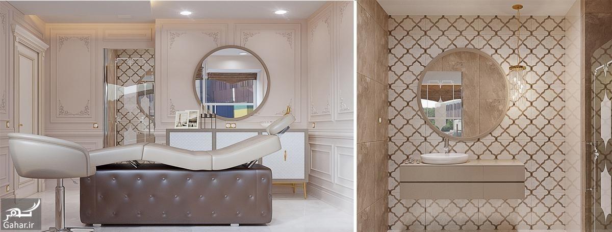 168263 Gahar ir دکوراسیون آرایشگاه زنانه فوق العاده زیبا و مدرن + جزییات