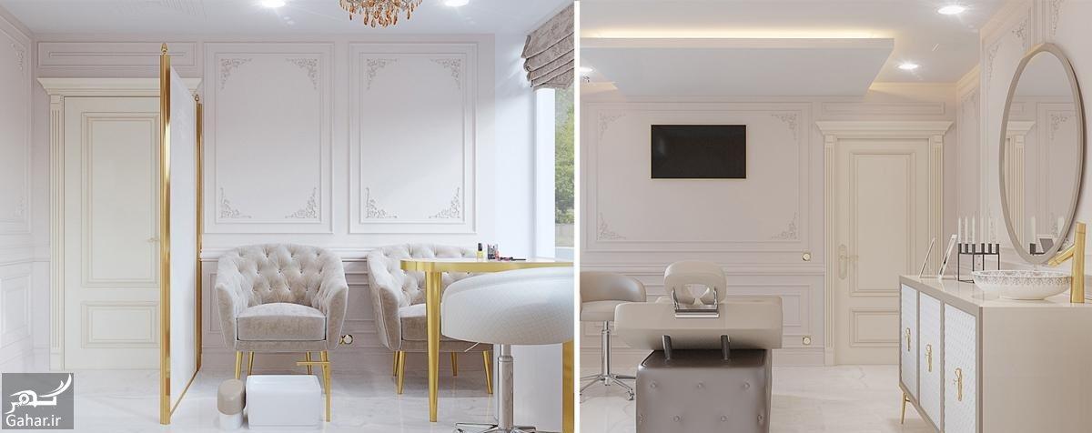 442389 Gahar ir دکوراسیون آرایشگاه زنانه فوق العاده زیبا و مدرن + جزییات