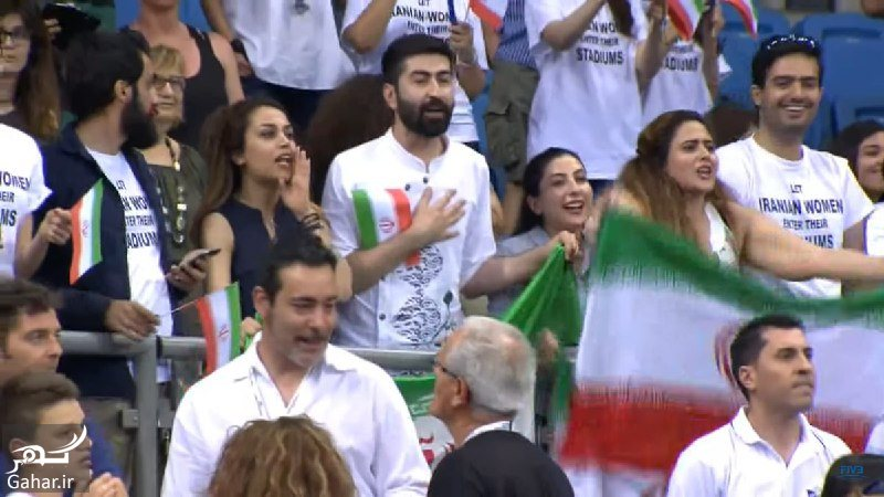 608489 Gahar ir عکس تماشاگران ایرانی بازی والیبال ایران ایتالیا که سانسور شدند!