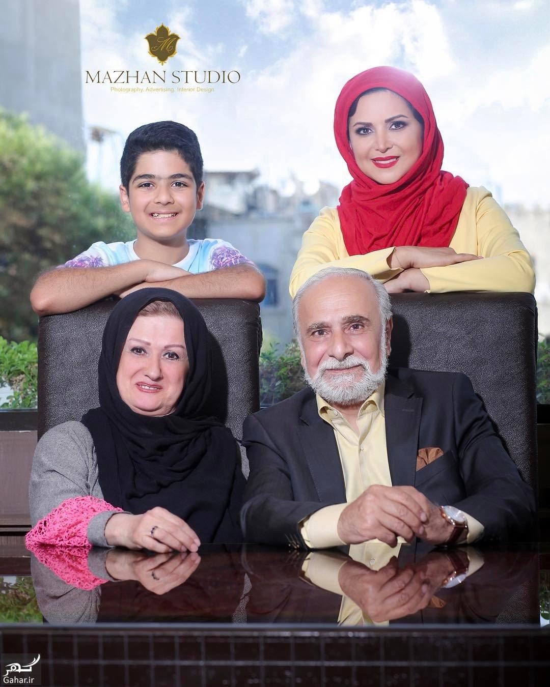 863870 Gahar ir عکس جدید کمند امیرسلیمانی در کنار خانواده اش