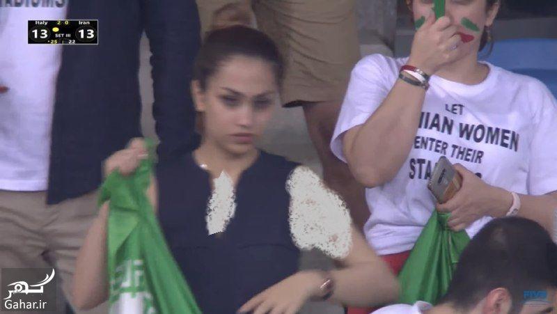873133 Gahar ir عکس تماشاگران ایرانی بازی والیبال ایران ایتالیا که سانسور شدند!