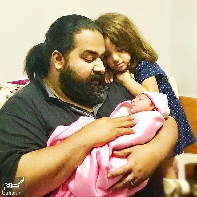948477 Gahar ir رضا صادقی صاحب دومین دختر شد ؛ عکس