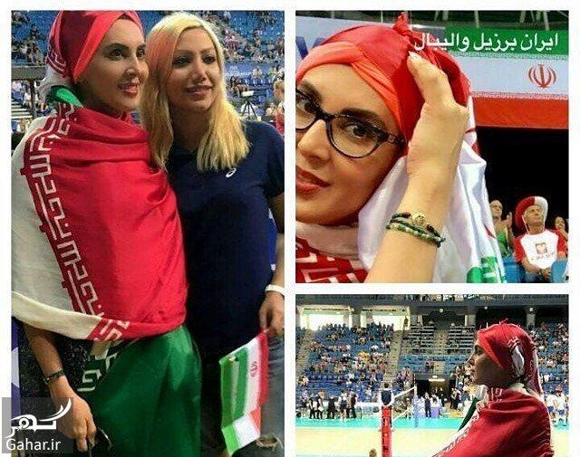 988708 Gahar ir عکس های لیلا بلوکات تماشاگر ویژه بازیهای والیبال ایران