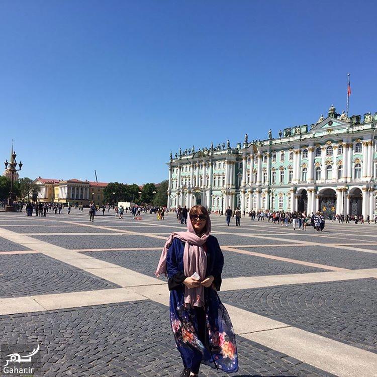 998268 Gahar ir سفر متفاوت لیلا برخورداری به روسیه + عکس های دیدنی