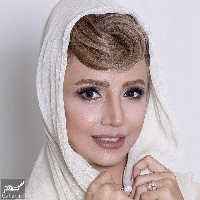 عکس جدید شبنم قلی خانی با مدل موی متفاوت, جدید 1400 -گهر