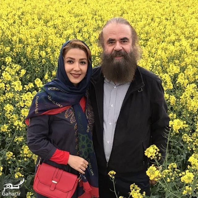 عکس های دیدنی سارا صوفیانی و همسرش با ۲۸ سال اختلاف سنی, جدید 1400 -گهر