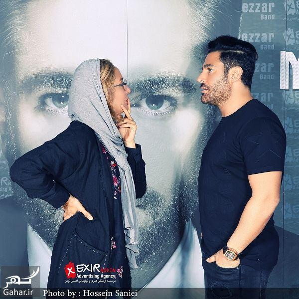 431646 Gahar ir عکس های جدید مهناز افشار در کنار محمدرضا گلزار با ژست های متفاوت