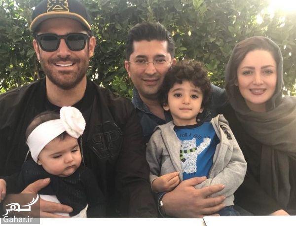 عکس / دورهمی شیلا خداداد به همراه همسر و فرزندانش در کنار رضا گلزار, جدید 1400 -گهر