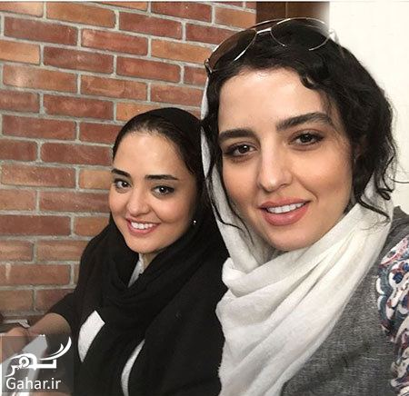 879836 Gahar ir عکس سلفی نرگس محمدی و خواهرش سارا محمدی