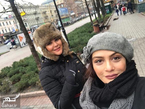 لاله اسکندری و مارال فرجاد در کشور اوکراین / عکس, جدید 99 -گهر