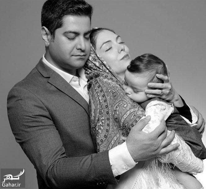 عکس احساسی و متفاوت آزاده نامداری در آغوش همسرش, جدید 1400 -گهر